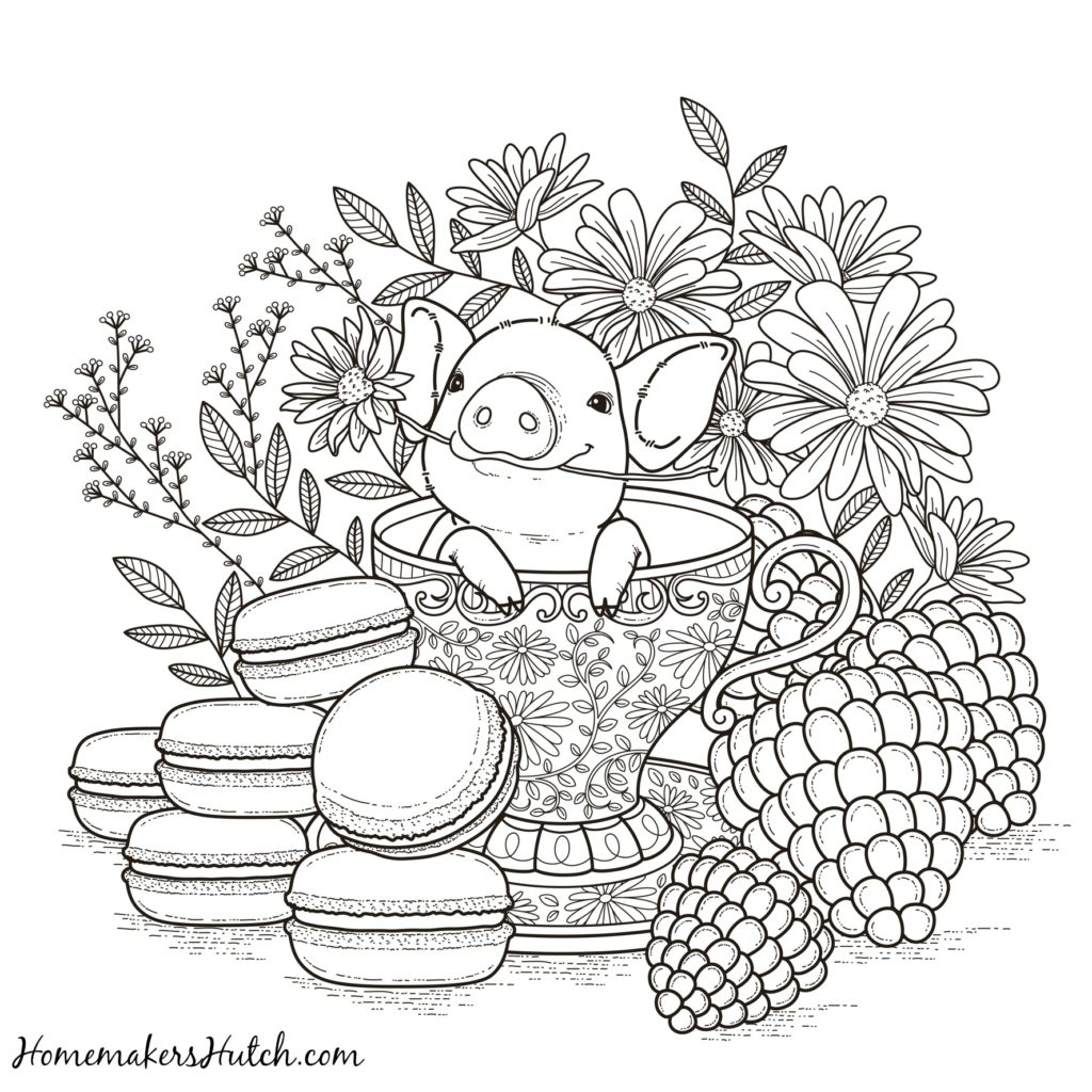 Relaxing Coloring Pages - Relaxing Coloring Pages Coloring Pages