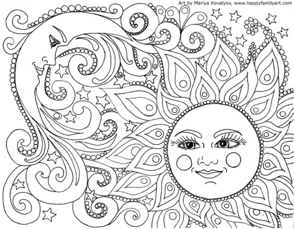 relaxing coloring pages - relaxing coloring pages for adults sketch templates