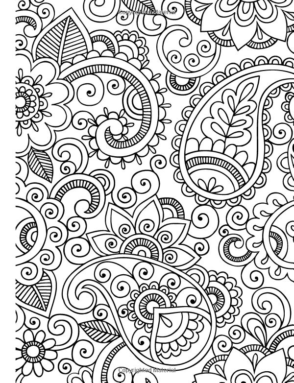 relaxing coloring pages -