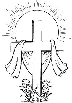 religious easter coloring pages -