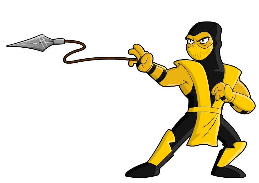 reptile coloring pages - ninja clip art