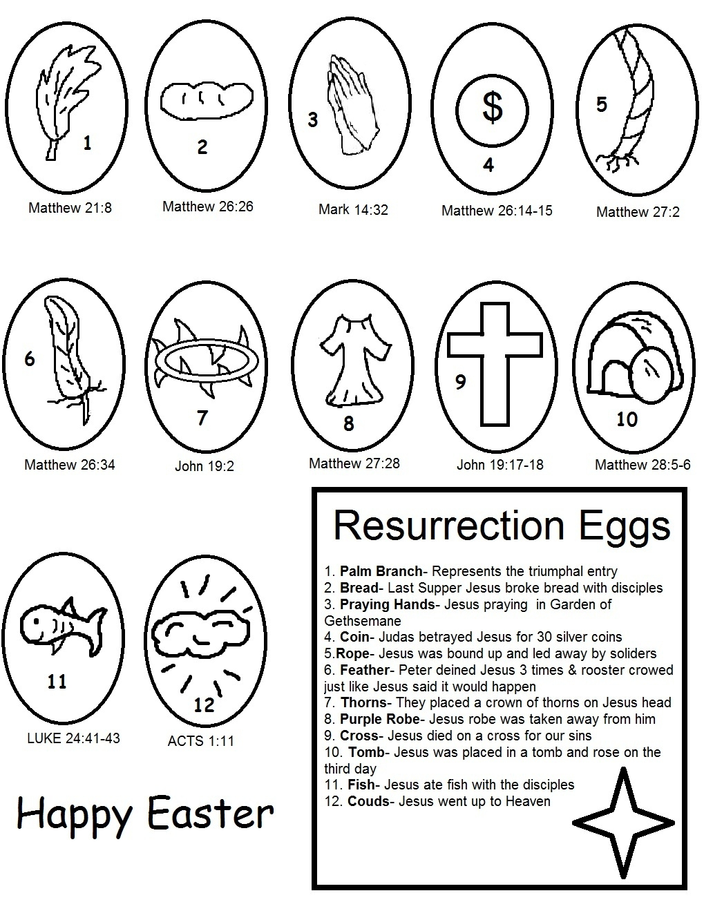 27 Resurrection Coloring Pages Printable
