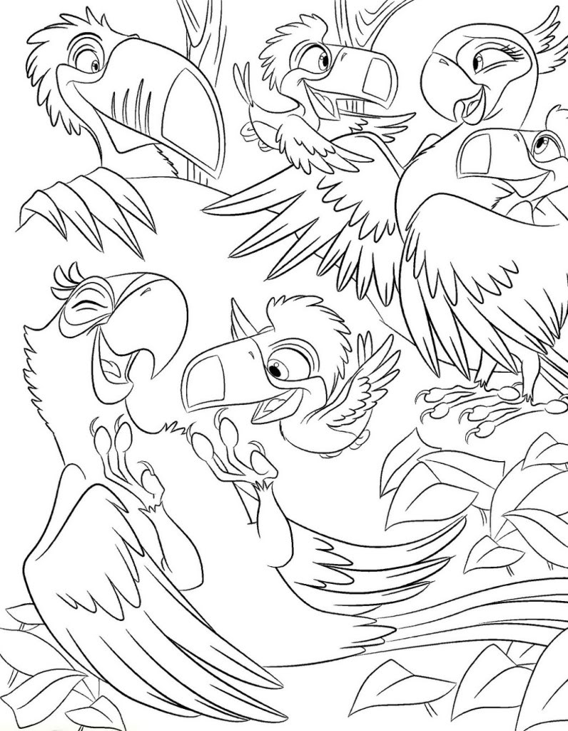 rio coloring pages - rio coloring pages printable sketch templates