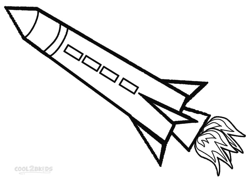 rocket coloring pages - q=2 rockets