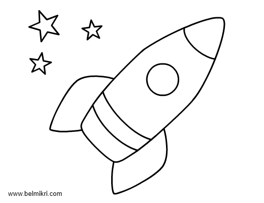 rocket coloring pages - space rocket coloring pages p=1