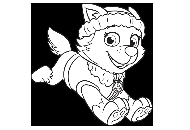 rocky paw patrol coloring page - paw patrol coloring pages
