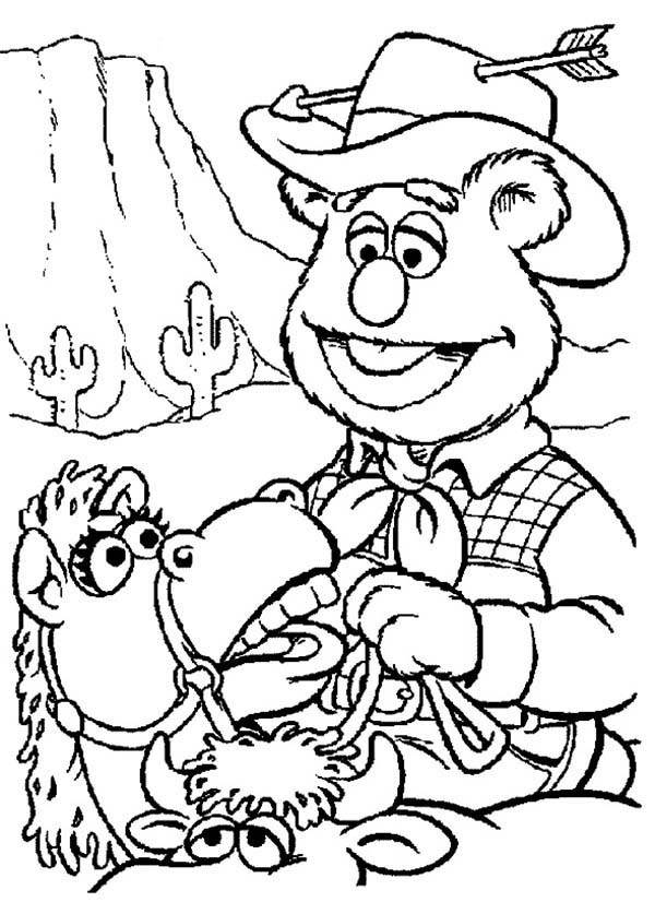 rodeo coloring pages - wild west coloring pages