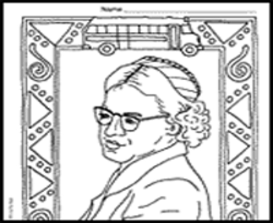 Rosa Parks Coloring Pages And Printables - Worksheet & Coloring Pages