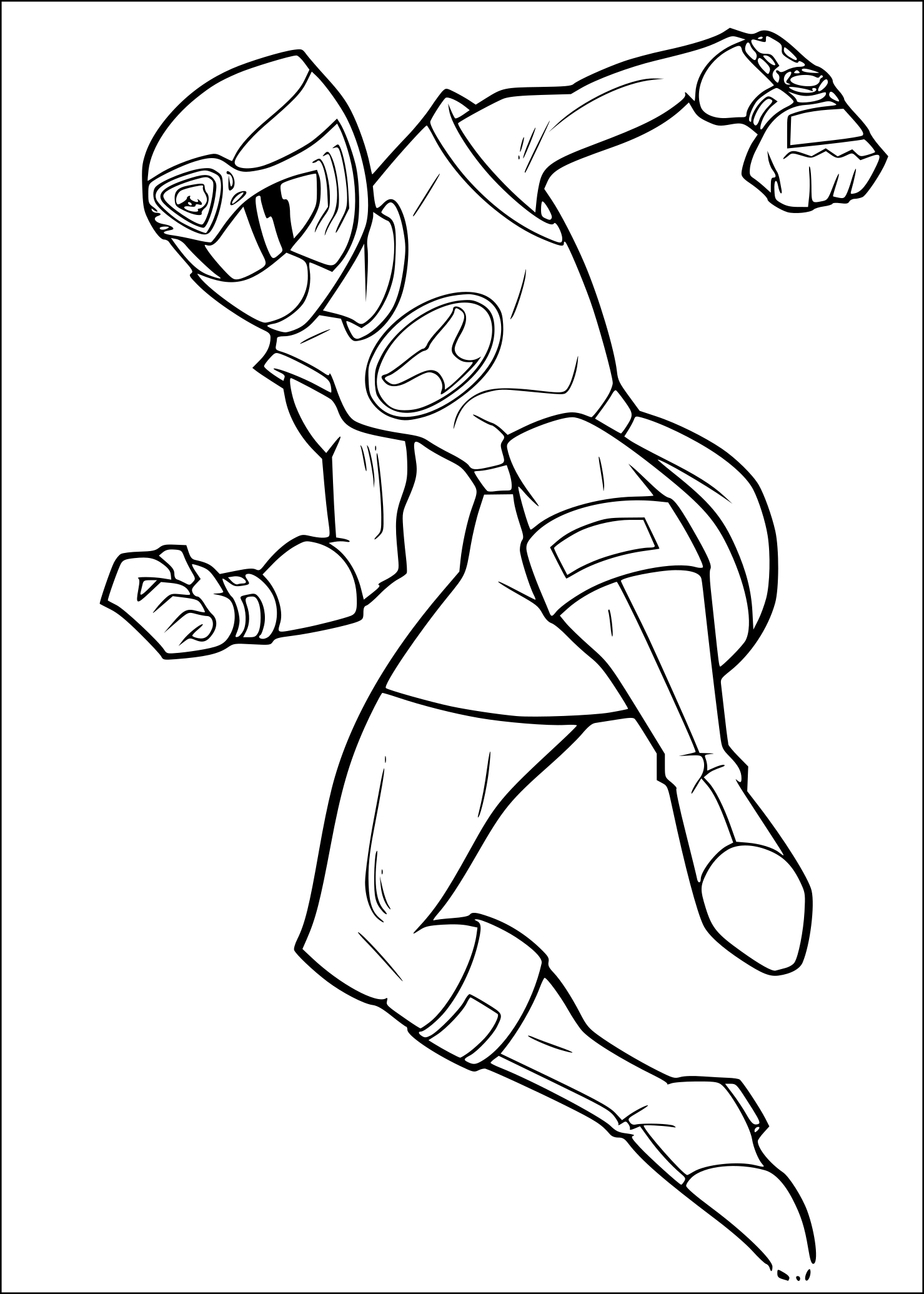 rose coloring pages - coloriagepowerrangersrose