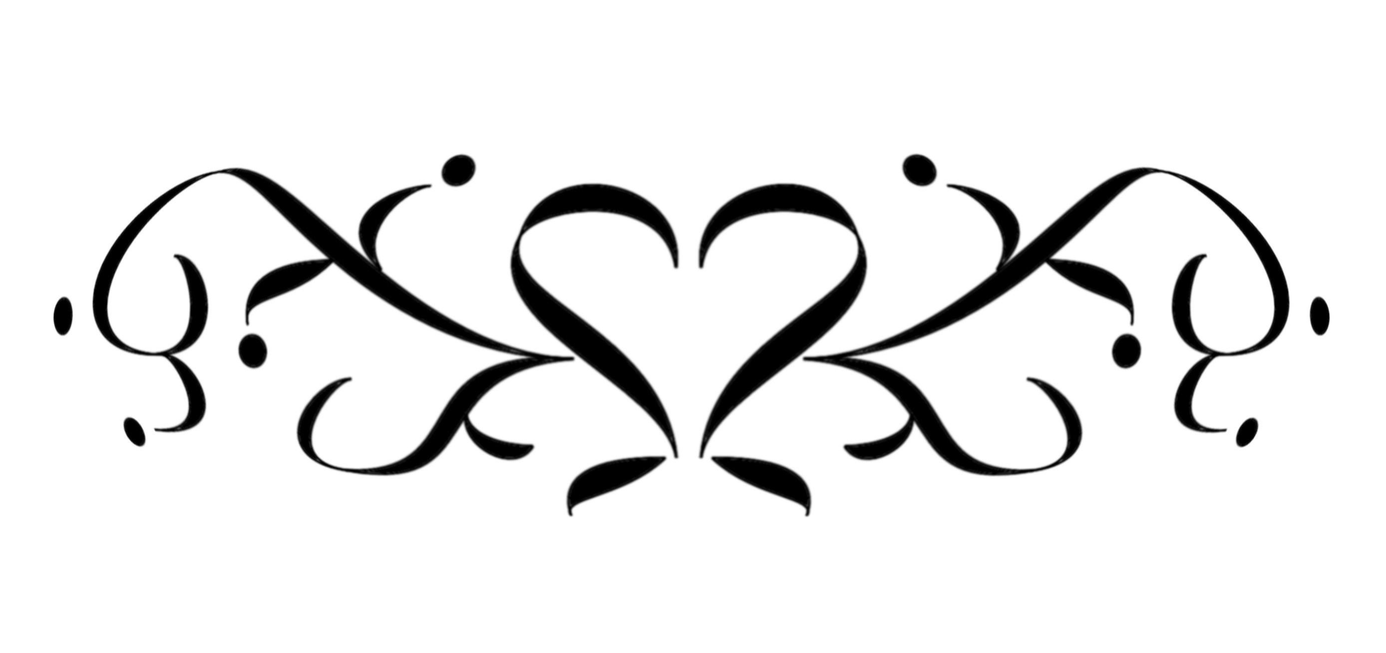 rose coloring pages - heart designs