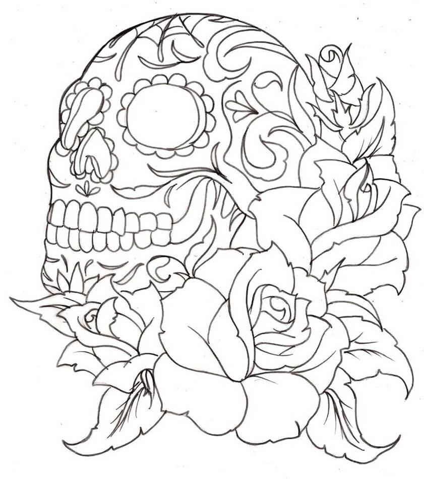 Rose Coloring Pages - top 10 Rose Coloring Pages that are Beyond Beautiful