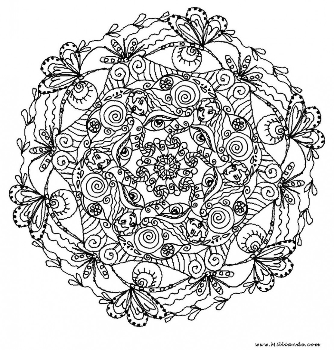 rose flower coloring pages - 3692