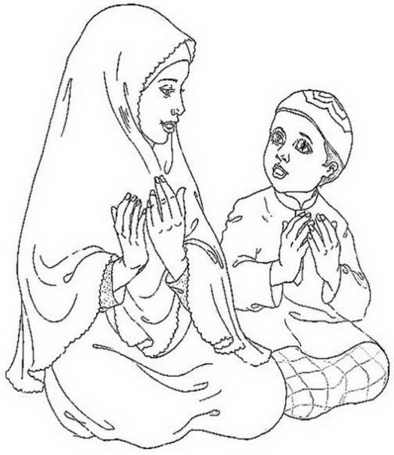 rosh hashanah coloring pages - ramadan coloring pages for kids