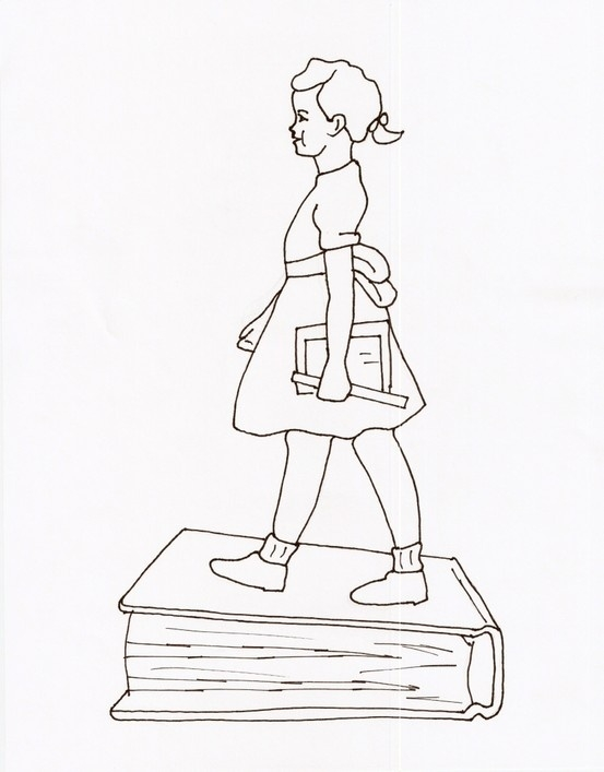 Ruby Bridges Coloring Page - Ruby Bridges Coloring Page I Searched and Searched the