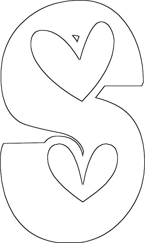 s coloring page - pfs