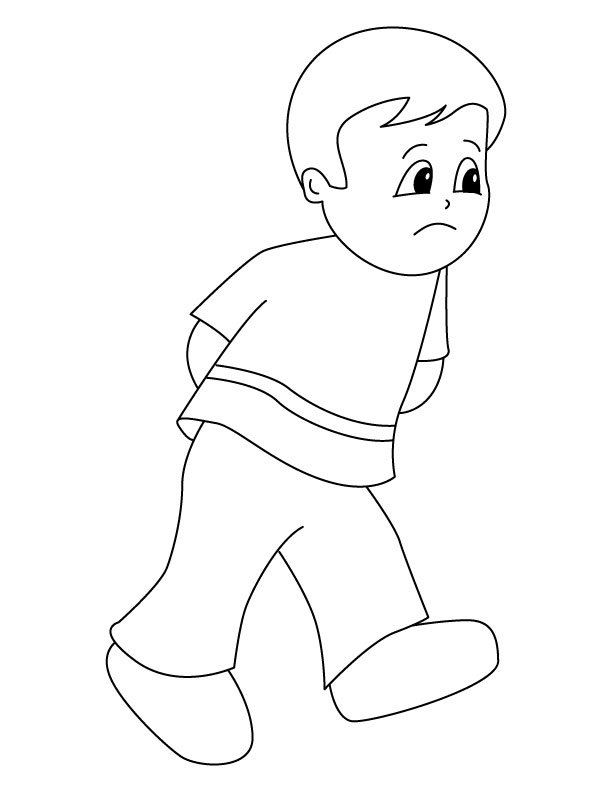 sad coloring pages - sad coloring page 1d2588