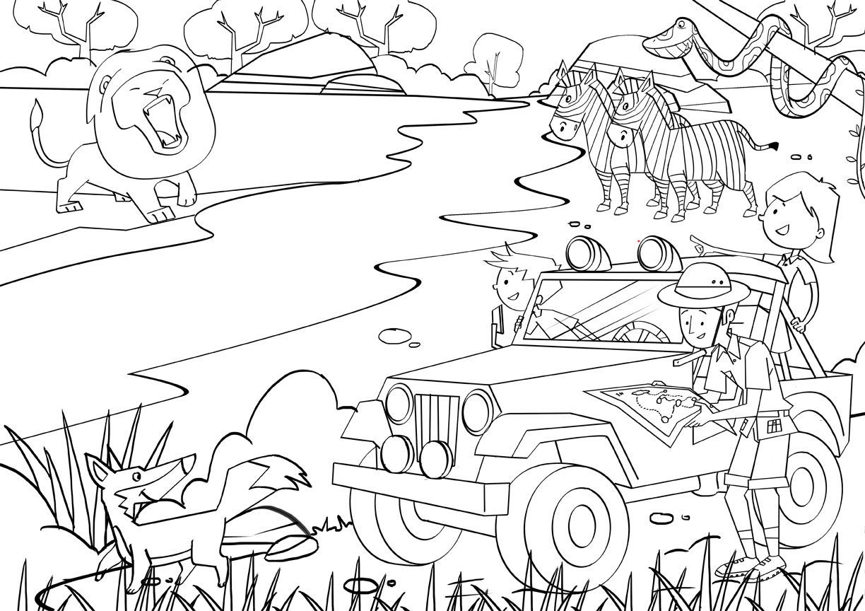 safari coloring pages - supercoloring wp content thumbnail 2009 01 giraffe 24 coloring page