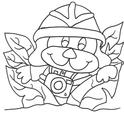 safari coloring pages - safari animals coloring pages