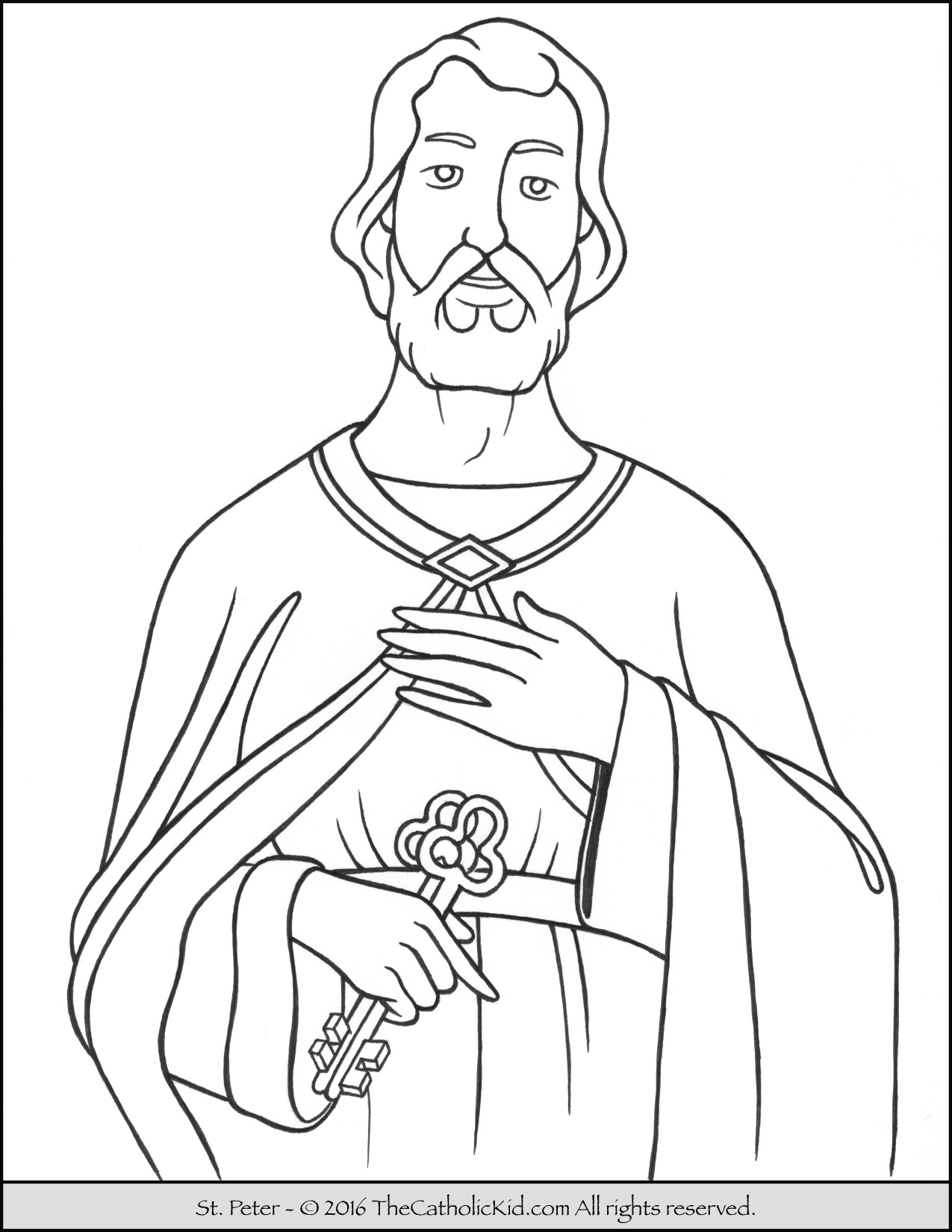 25 Saint Coloring Pages Compilation | FREE COLORING PAGES