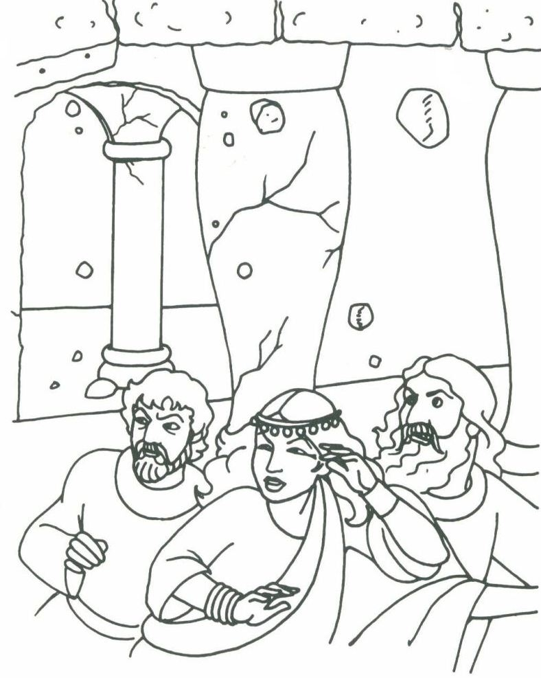 24 Samson Coloring Page Images Free Coloring Pages