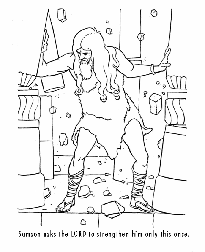 Emejing Samson Delilah Coloring Pages Photos - New Coloring Pages ...
