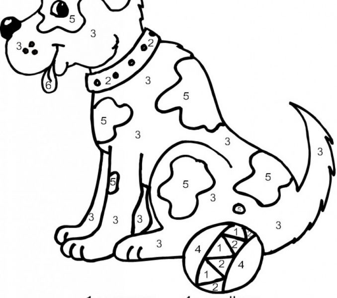 sand castle coloring page - color by numbers online free