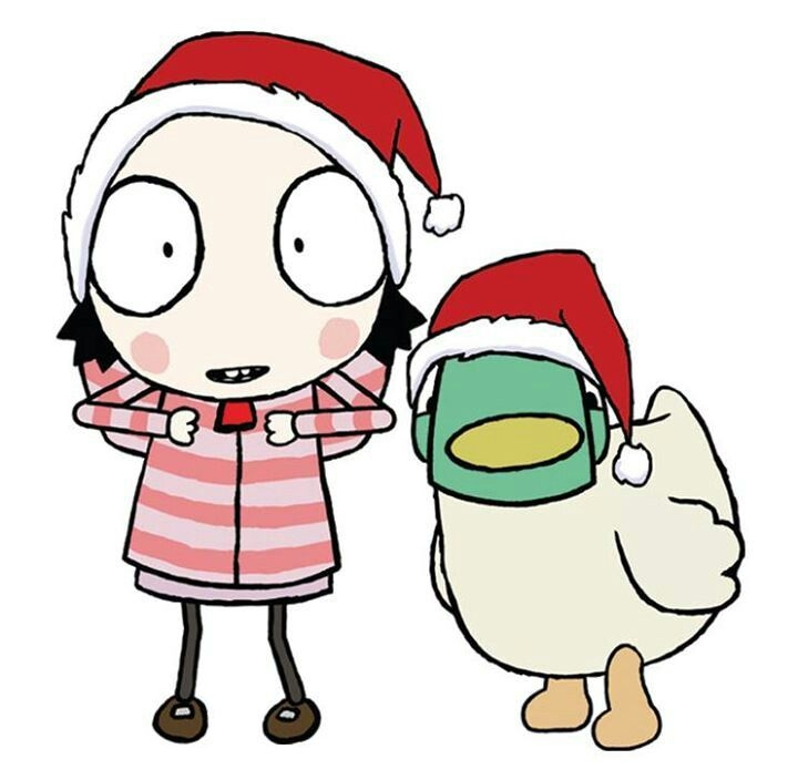sarah and duck coloring pages -