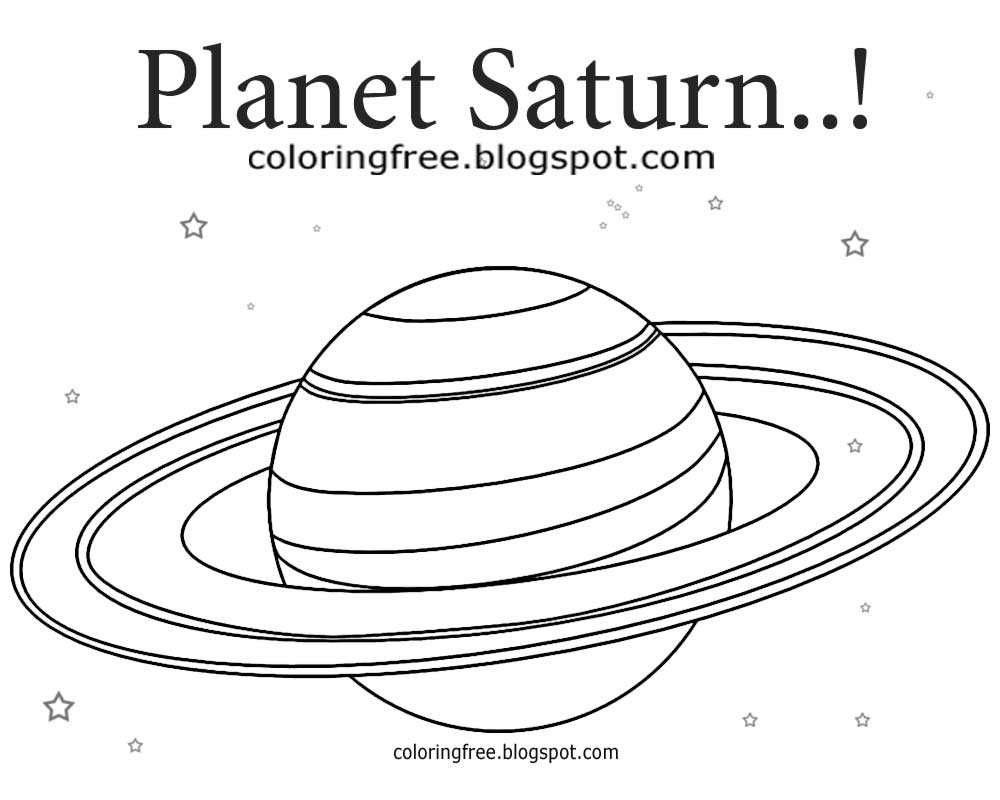 28 saturn coloring page images free coloring pages part 3