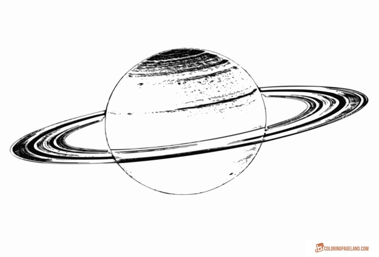 28 saturn coloring page images free coloring pages for Saturn coloring pages