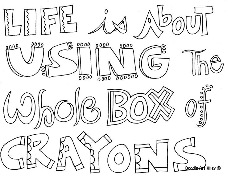 24 Sayings Coloring Pages Compilation