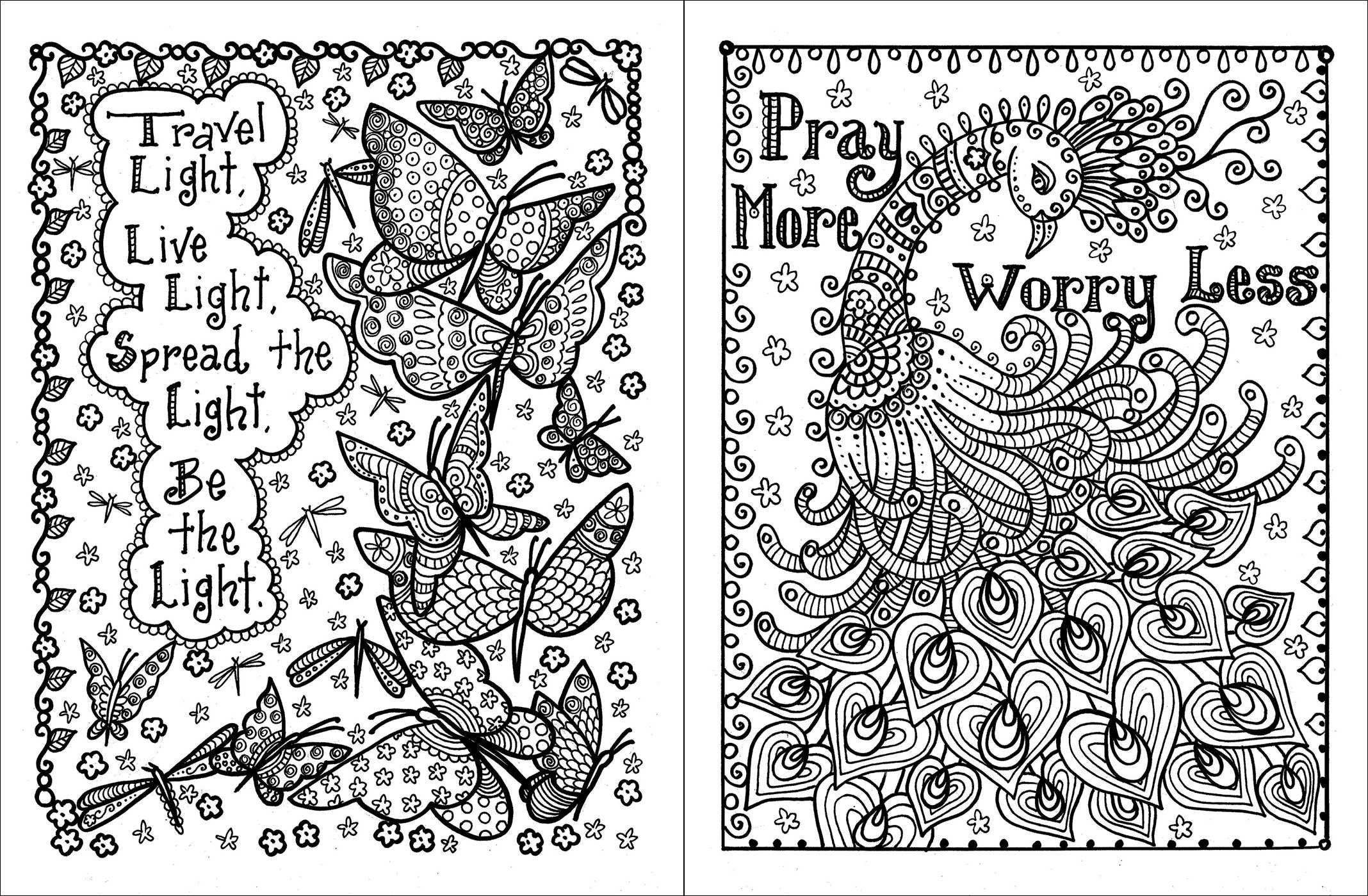 sayings coloring pages - sayings coloring pages