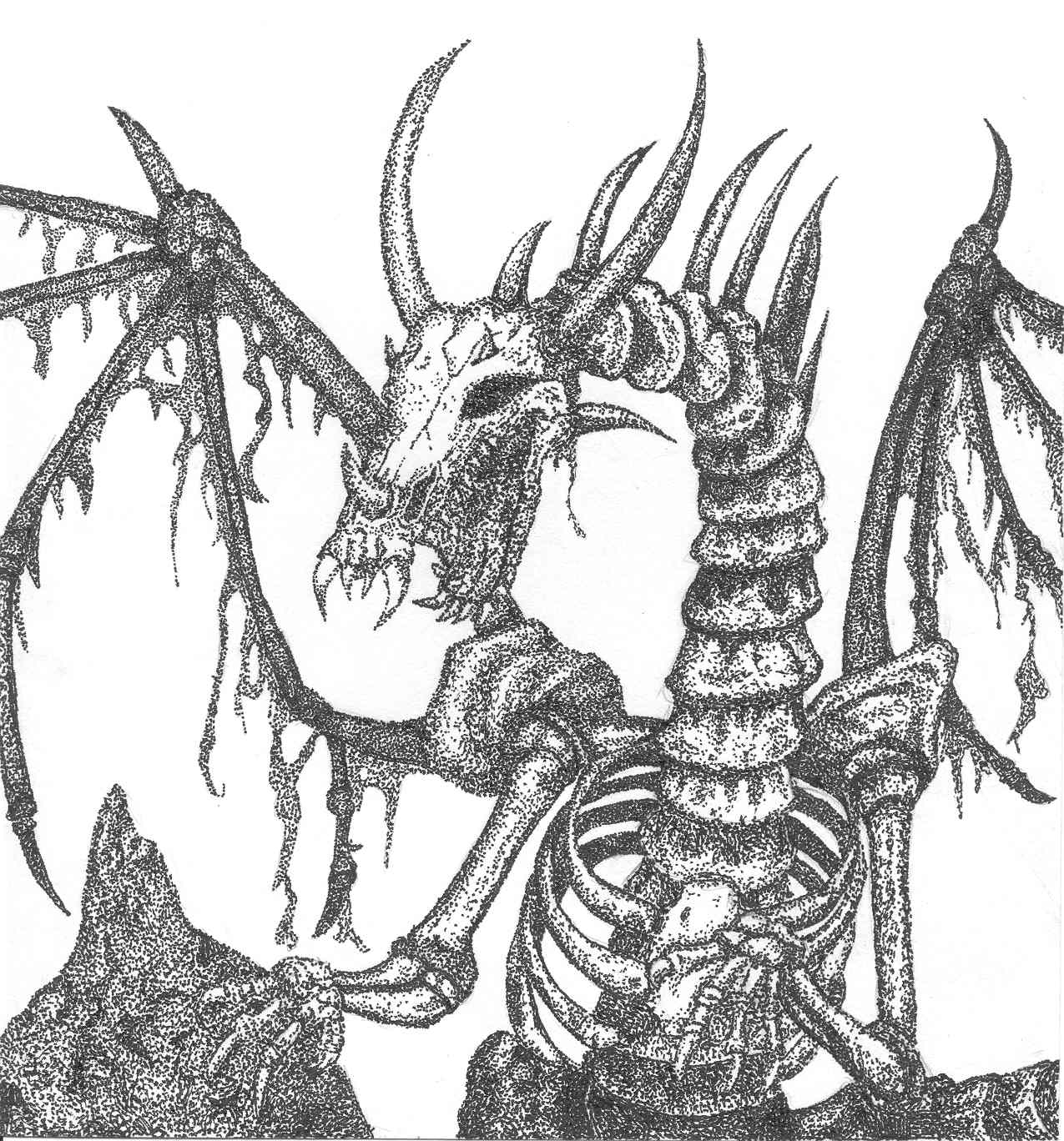 scary coloring pages -