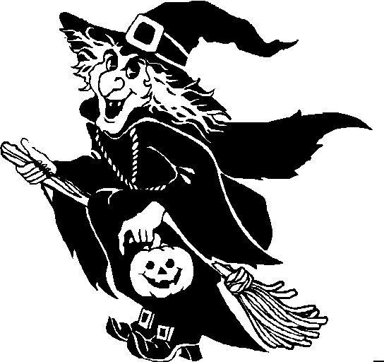 scary coloring pages - free creepy halloween clipart