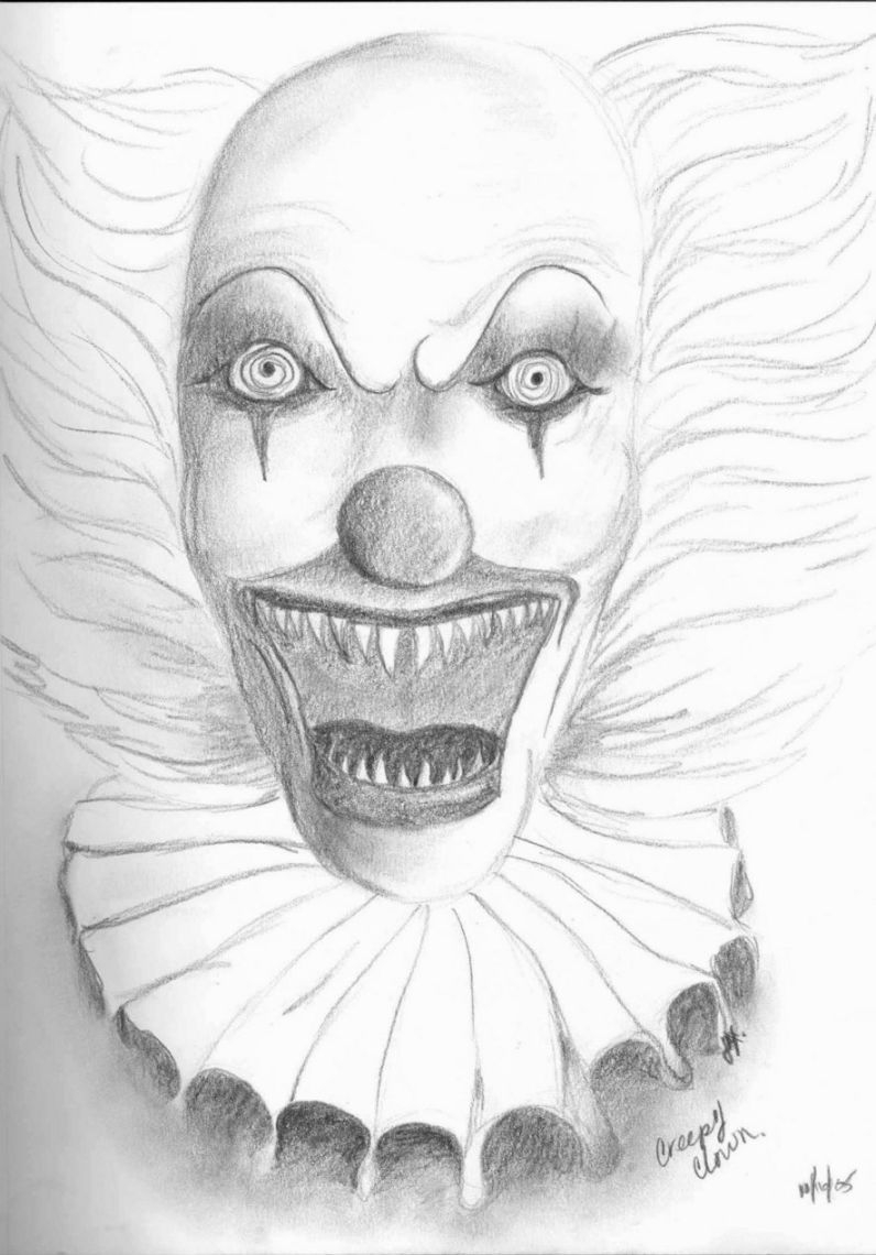 20 Scary Coloring Pages Printable | FREE COLORING PAGES