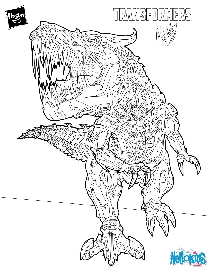 scary coloring pages - free transformers prime coloring pages