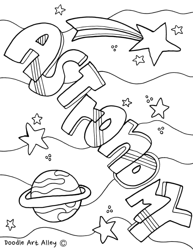 science coloring pages - science