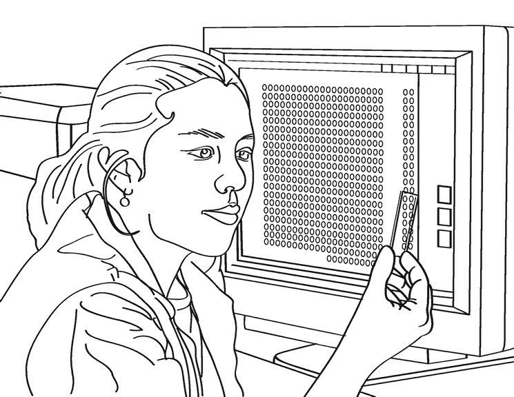 Scientist Coloring Page - Famous Scientist Pages Coloring Pages