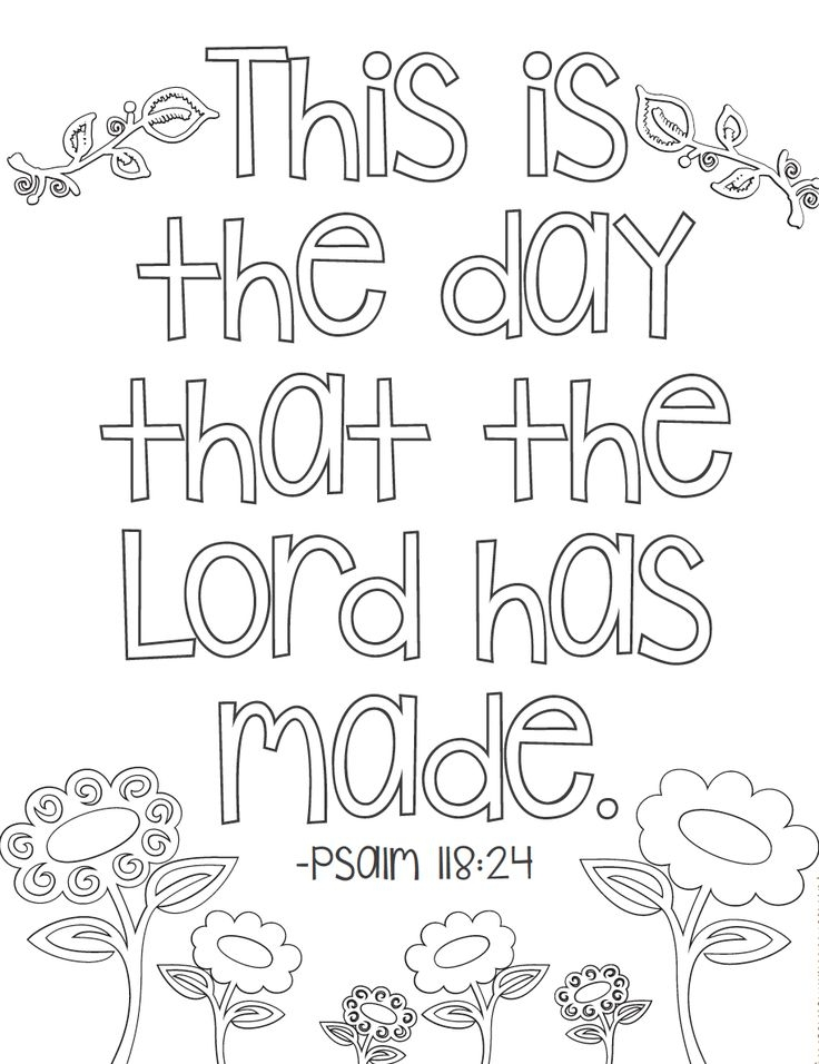 scripture coloring pages - childrens bible verse coloring pages