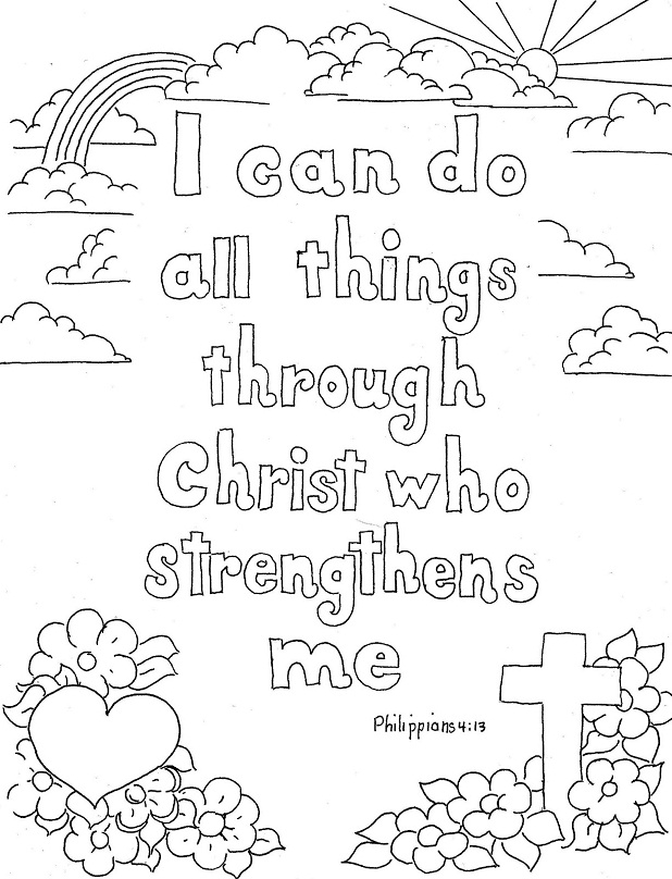 scripture coloring pages - breathed scripture coloring page all sketch templates