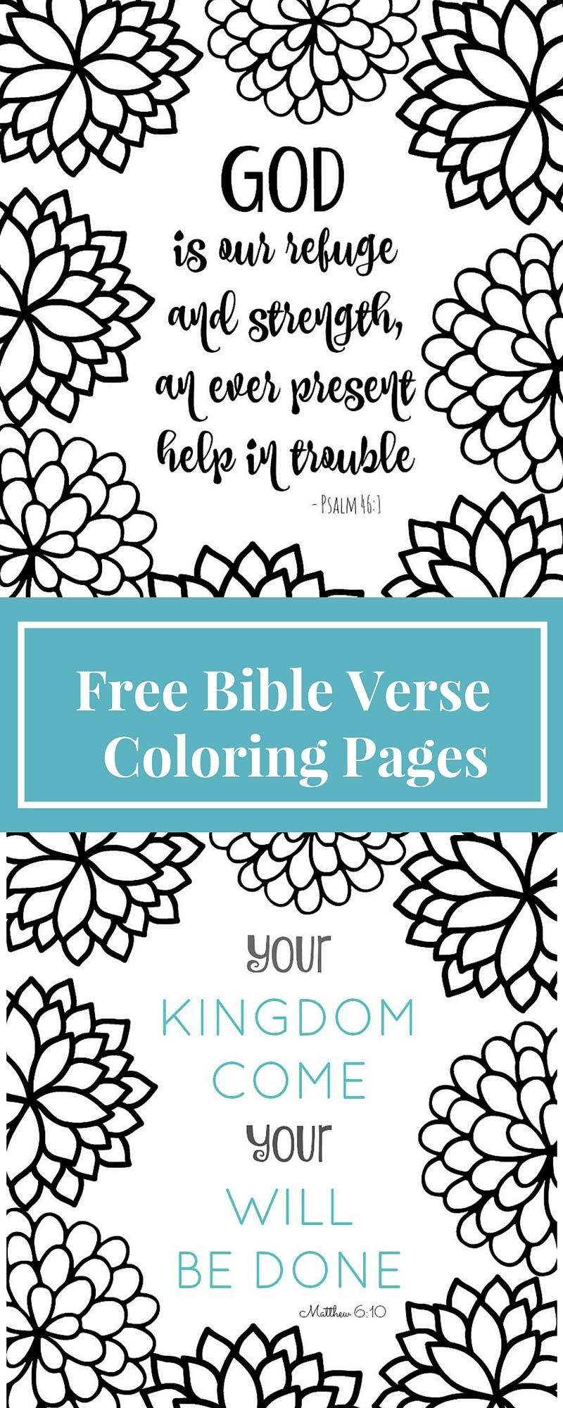 scripture coloring pages - bible verse coloring pages