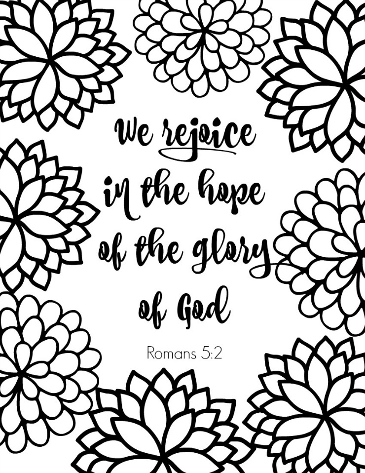 scripture coloring pages - scripture verse coloring pages
