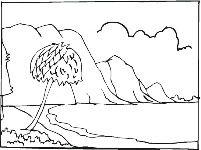sea coloring pages - sea coloring page