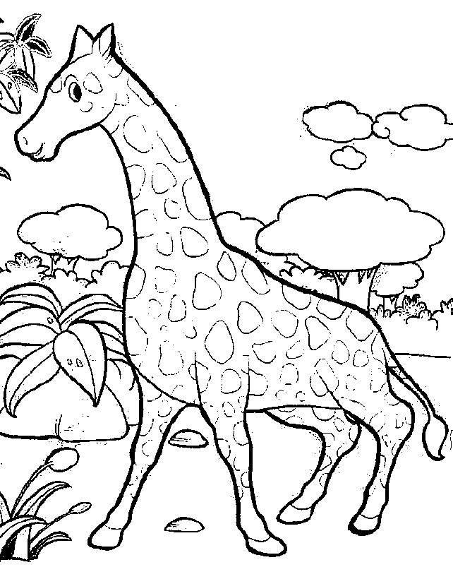 Sea Creatures Coloring Pages - Giraffe Malvorlagen Malvorlagen1001