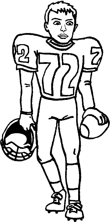 seahawks coloring pages - best american football coloring pages for kids 874