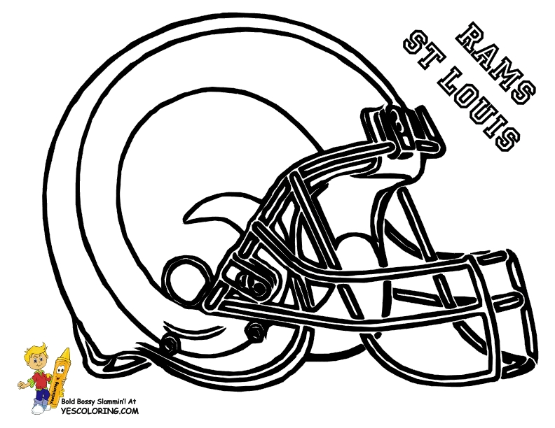 seahawks coloring pages -