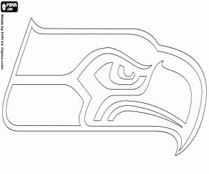 Seattle Seahawks Coloring Pages - Nfl Logos Coloring Pages Printable Games 2