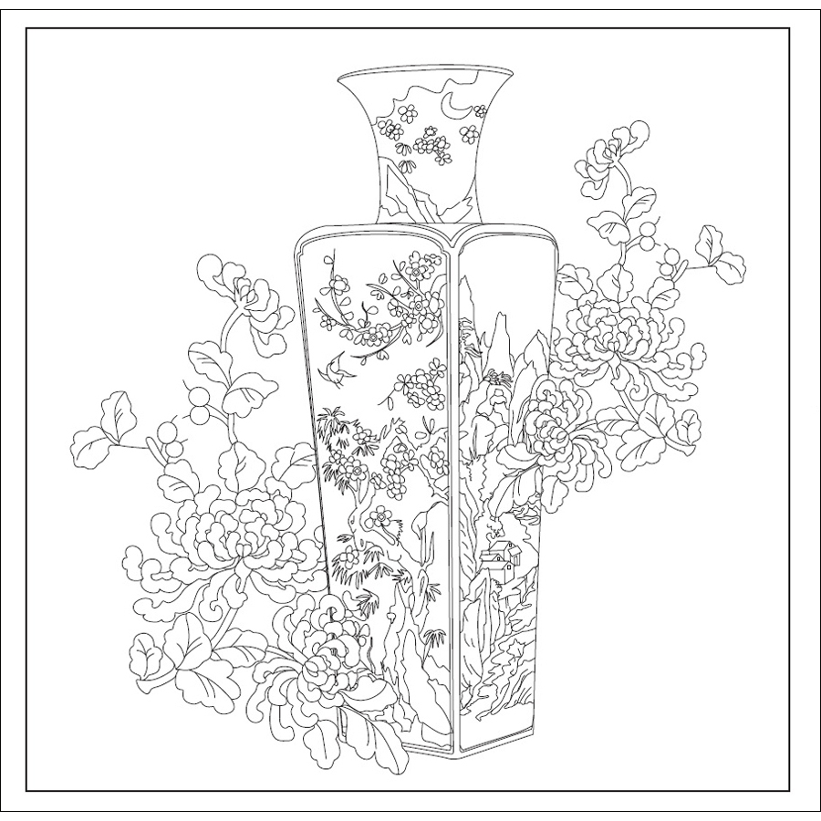 Secret Garden Coloring Pages