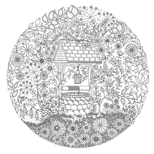 secret garden coloring pages - q=secret garden book