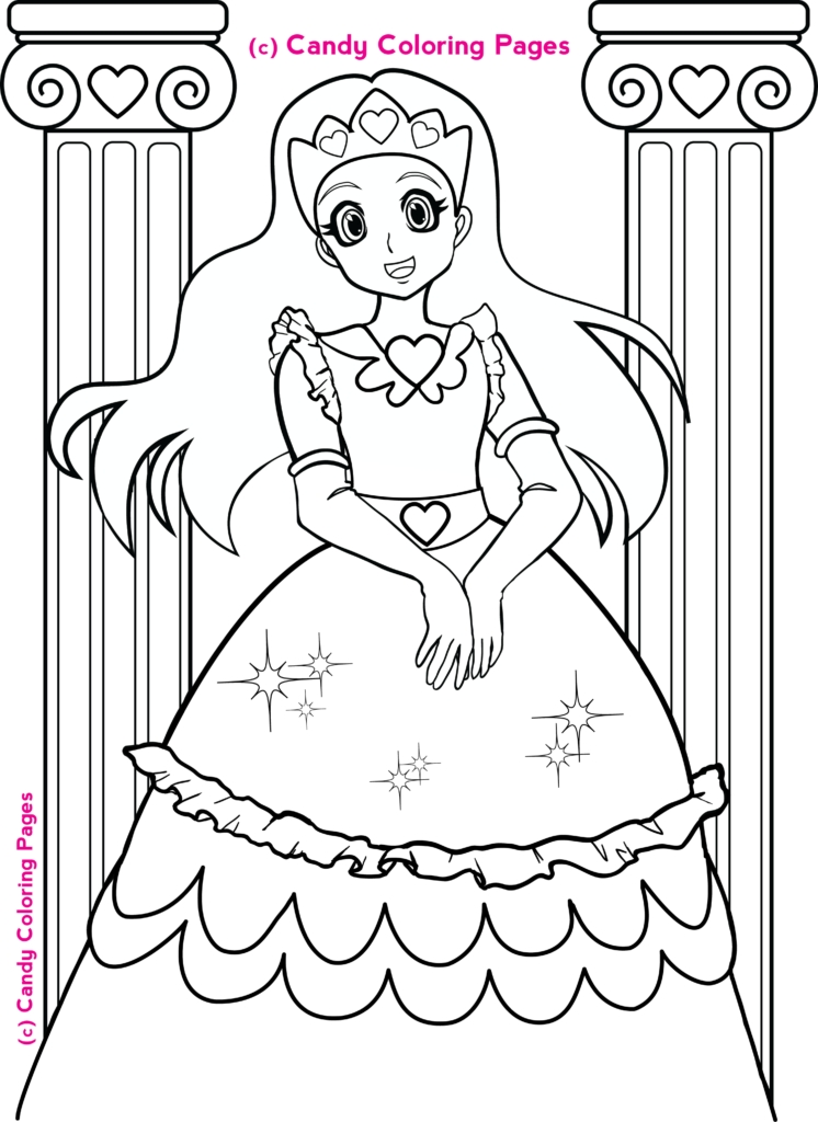 september coloring pages - free princess coloring pages penny candy coloring pages for kids 6
