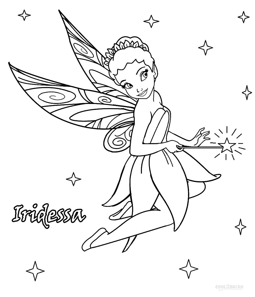 september coloring pages - how to draw vidia fairy